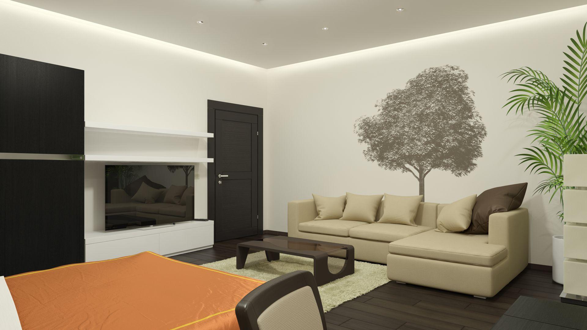 Indirekte Akzentbeleuchtung Wohnzimmer