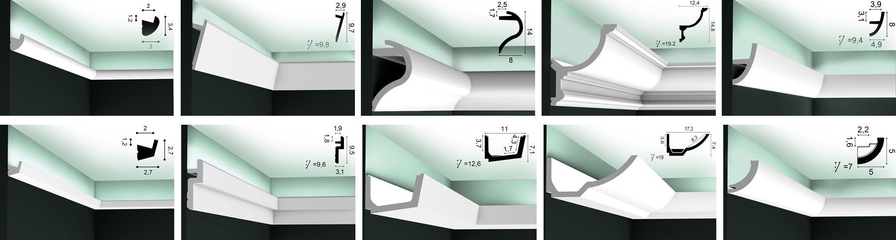Indirektes Licht mit Lichtvouten & Stuckleisten von ORAC Decor
