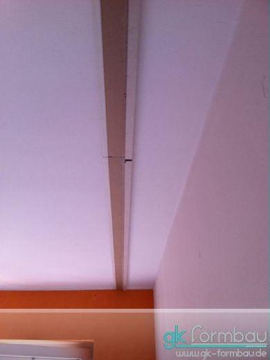 Indirekte Beleuchtung: Schattenfuge montieren
