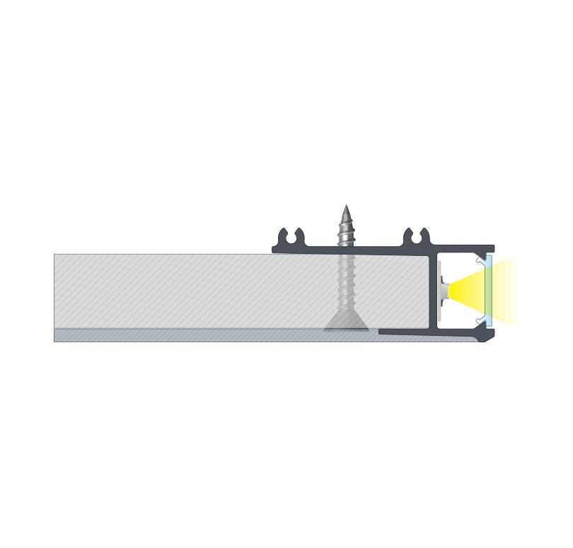 APA Profil Montage, Deckenabhängung