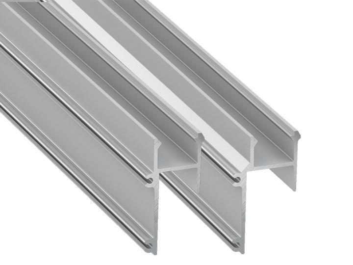 APA Profil für indirekte Beleuchtung, Montage an Gipskarton