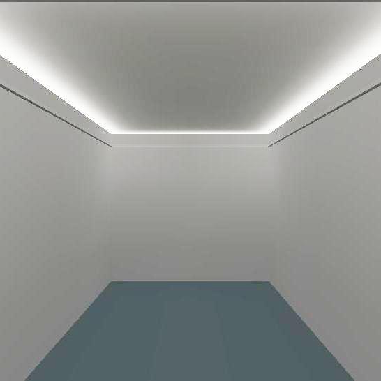 Einfache Lichtsimulation für indirekte Beleuchtung