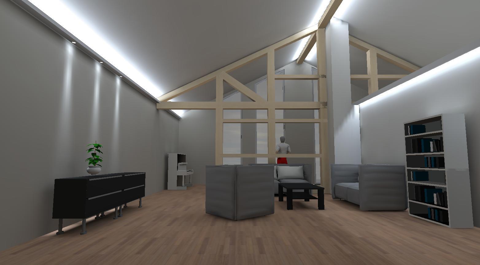 3D Lichtplanung für indirekte Beleuchtung