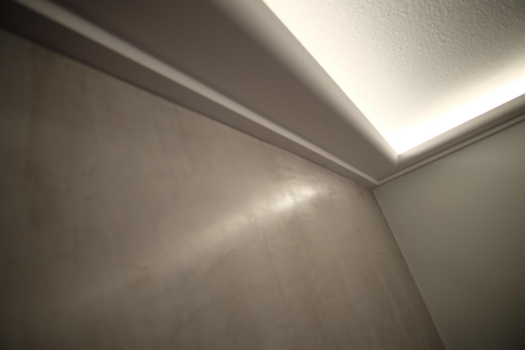 Lichtvoute Wand Detail