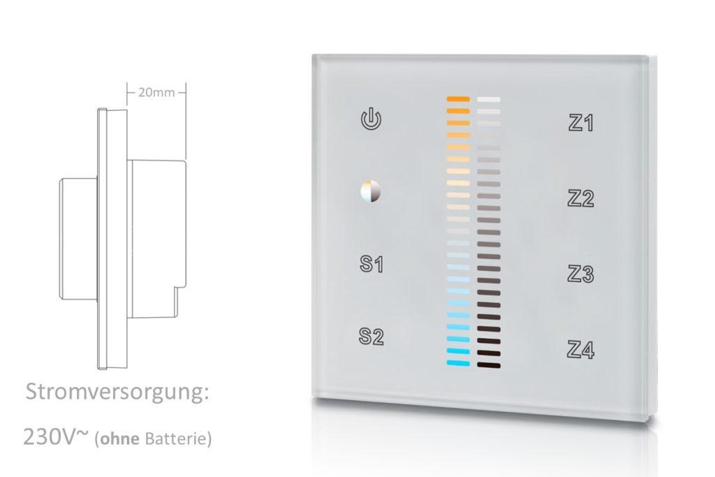 LED Farbtemperatur Regler LK55TACCTw