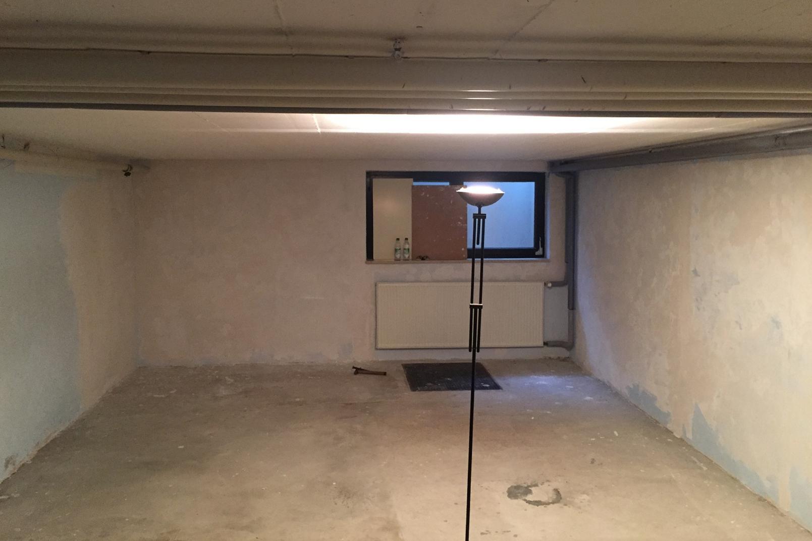 Kellerraum vor Ausbau